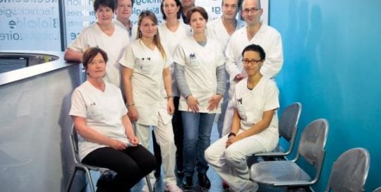 Equipe Labo centre de fécondation in vitro Saint Roch Montpellier