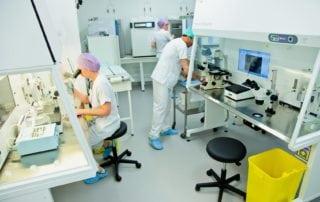 Laboratoire centre aide médicale à la procréation st roch