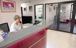 Réception accueil centre de fertilité montpellier Saint Roch