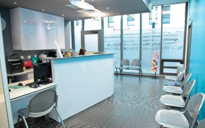 Salle accueil centre de fécondation in vitro Saint Roch Montpellier